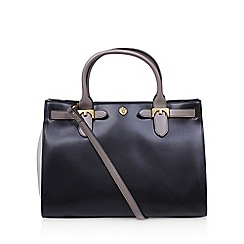 Anne Klein - Black 'Jessica' tote LG handbag with shoulder strap