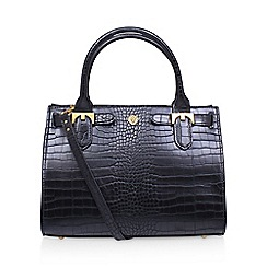 Anne Klein - Black 'Jessica' tote handbag with shoulder straps