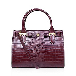 Anne Klein - Red 'Jessica' tote handbag with shoulder straps