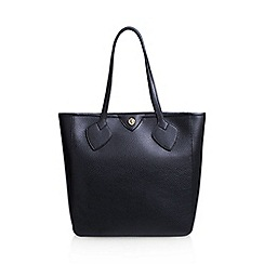 Anne Klein - Black 'Georgia' tote handbag with shoulder straps