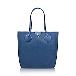 Anne Klein - Blue 'Georgia' tote handbag with shoulder straps