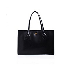 Anne Klein - Black 'Amelia' tote handbag with shoulder straps