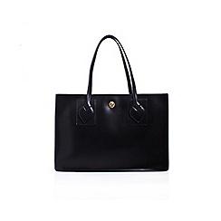 Anne Klein - Black 'Amelia' tote handbag with shoulder straps