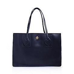 Anne Klein - Blue 'Amelia' tote handbag with shoulder straps