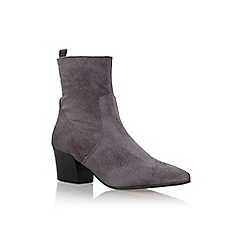 Carvela - Grey 'Silky' high heel ankle boots