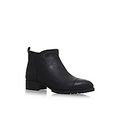 Nine West - Black 'Layitout' flat ankle boots