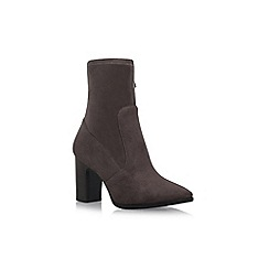 Nine West - Grey 'Sadiah' high heel ankle boots