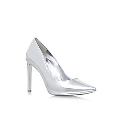 Nine West - Silver 'Tatiana3' high heel court shoes