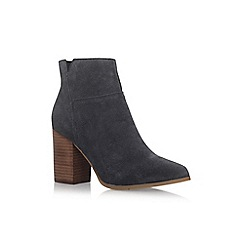 Nine West - Blue 'Keke' high heel ankle boots