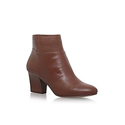 Nine West - Brown 'Caseylu3' high heel ankle boots