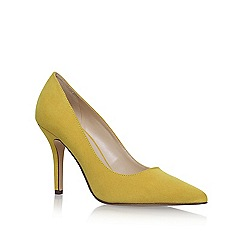 Nine West - Yellow 'Flagship' high heel court shoes