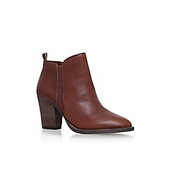 Vince Camuto - Brown 'Micaley' high heel ankle boots