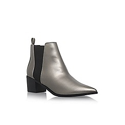 Miss KG - Grey 'Senta' high heel ankle boots