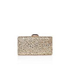 Carvela - Gold 'Gigi' Clutch bag