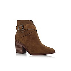 Vince Camuto - Tan 'Cecanne' high heel ankle boots