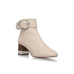 KG Kurt Geiger - Cream 'Ringo' high heel ankle boots