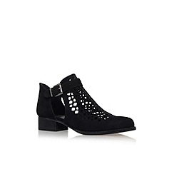 Vince Camuto - Black 'Cadey' low heel ankle boots