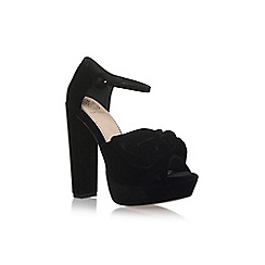 KG Kurt Geiger - Black 'Jackpot' high heel sandals