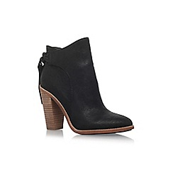 Vince Camuto - Black 'Linford' high heel zip up ankle boot