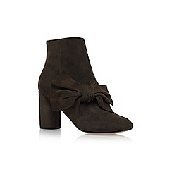 KG Kurt Geiger - Brown 'Rattle' high heel ankle boots