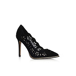 KG Kurt Geiger - Black 'Crown' high heel court shoes