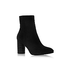 Carvela - Black 'Smile' high heel ankle boots