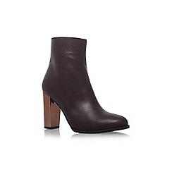 Carvela - Red 'Salvador' high heel ankle boots