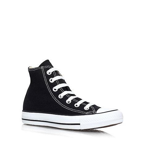 Converse - Converse black +hi top+ trainers