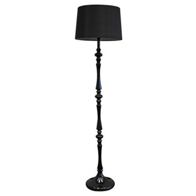 Black Floor Lamps on Litecraft Rococo Floor Lamp And Black Shade   Review  Compare Prices