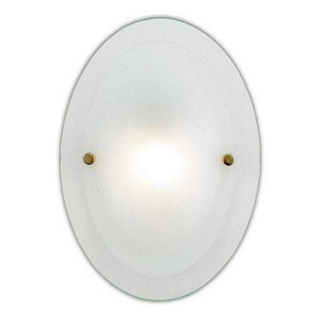 Litecraft - Opaque Glass Julie Wall Light