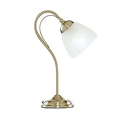 Litecraft - Barcelona Antique Brass Table Lamp