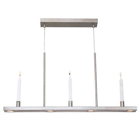 Litecraft - Chrome Candle Diner Pendant Light