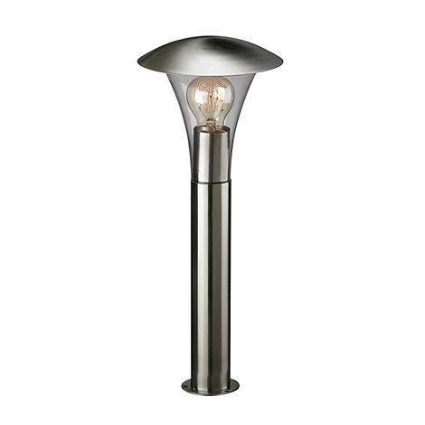 Litecraft - Stainless Steel Fiorenza Outdoor Light Pedestal