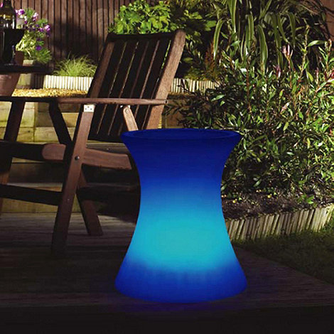 Litecraft - 7 Colour Changing LED Illuminated Side Table