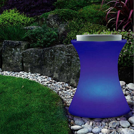 Litecraft - 7 Colour Changing LED Illuminated Stool