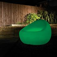 7 Colour Changing LED Illuminated Tub Chair