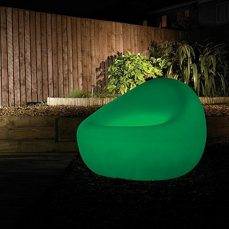 Litecraft - 7 Colour Changing LED Illuminated Tub Chair