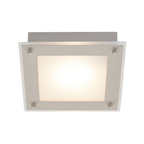 Litecraft - Zeus 1 light recessed Nickel spotlight