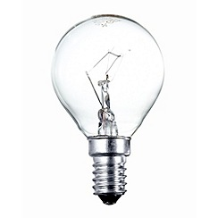 Litecraft - Pack of 30 25w SES Golf Ball Clear Light Bulbs