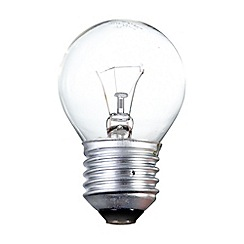 Litecraft - Pack of 30 40w ES Golf Ball Clear Light Bulbs