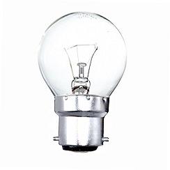 Litecraft - Pack of 30 25w BC Golf Ball Clear Light Bulbs