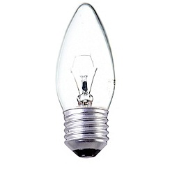 Litecraft - Pack of 30 25w ES Candle Clear Light Bulbs