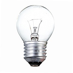 Litecraft - Pack of 30 25w ES Golf Ball Clear Light Bulbs