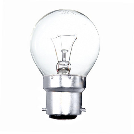 Litecraft - Pack of 30 40w BC Golf Ball Clear Light Bulbs