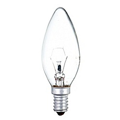 Litecraft - Pack of 30 60w SES Candle Clear Light Bulbs