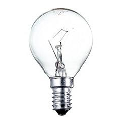 Litecraft - Pack of 30 60w SES Golf Ball Clear Light Bulbs