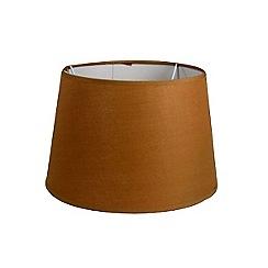 Litecraft - Pack of two  10 inch Tan Lamp Shades