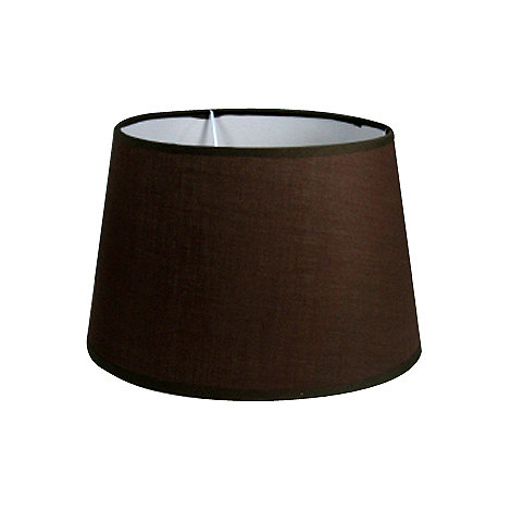 Litecraft - Pack of two  10 inch Brown Lamp Shades