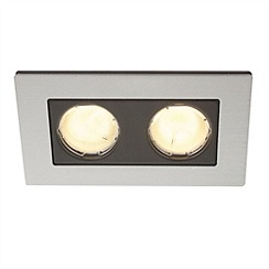 Litecraft - Heka twin Aluminium recessed downlights