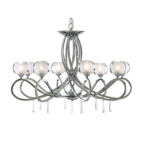Litecraft - Marta Chrome 8 Light Ceiling Light